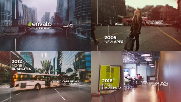 Videohive Parallax Timeline 20175249