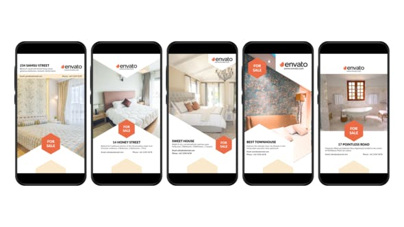 Videohive Real Estate Instagram Story 26145969