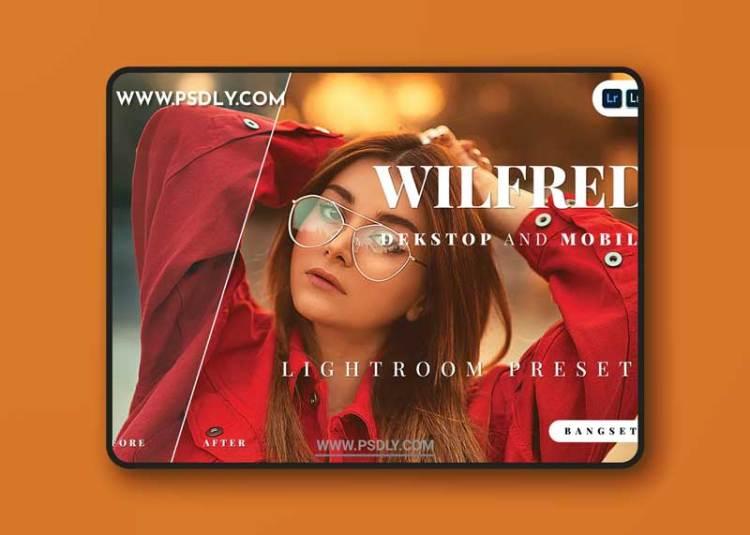 Wilfred Desktop and Mobile Lightroom Preset