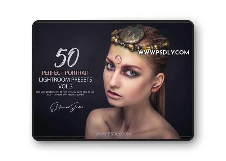 50 Perfect Portrait Lightroom Presets - Vol. 3