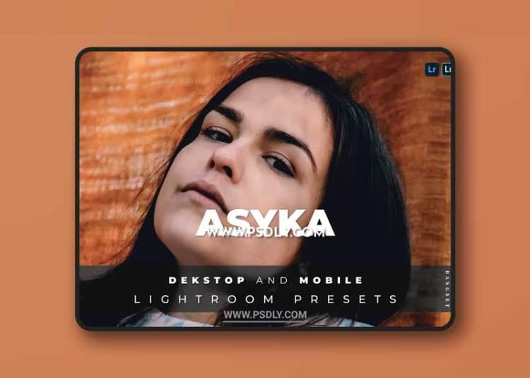 Asyka Desktop and Mobile Lightroom Preset