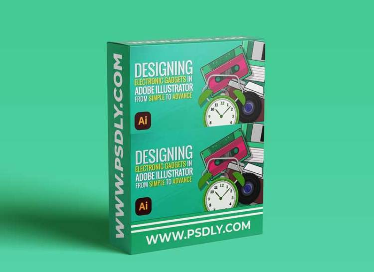 Designing Electronic Gadgets in Adobe Illustrator: From Simple to Advanced