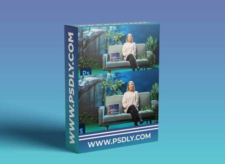 Domestika - Magical Photomontage in Photoshop: Creating Visual Metaphors
