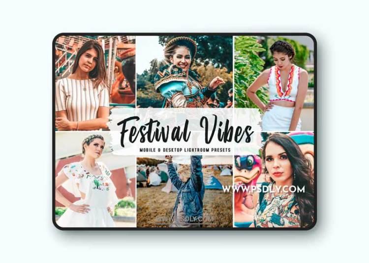 Festival Vibes Mobile & Desktop Lightroom Presets