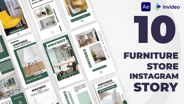Videohive Furniture Store Instagram Stories Template 32928764