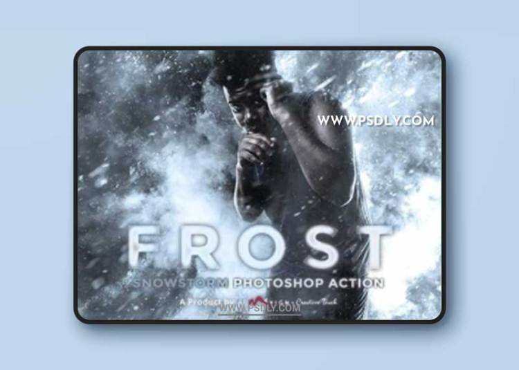 GraphicRiver - Frost - Snowstorm Photoshop Action 31529840