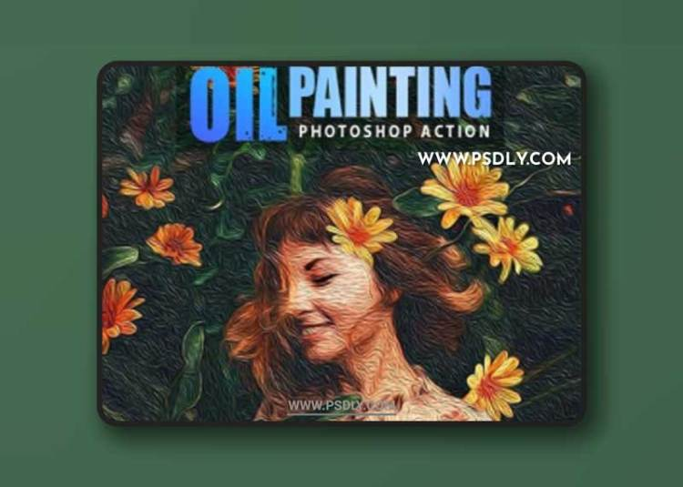 GraphicRiver - Oil Painting Photoshop Action 32309443