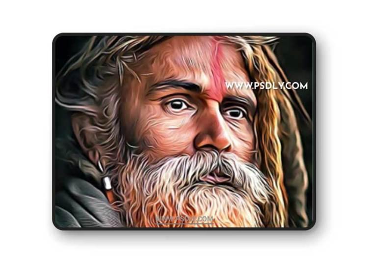 GraphicRiver - Premium Oil Painting Action 31404406