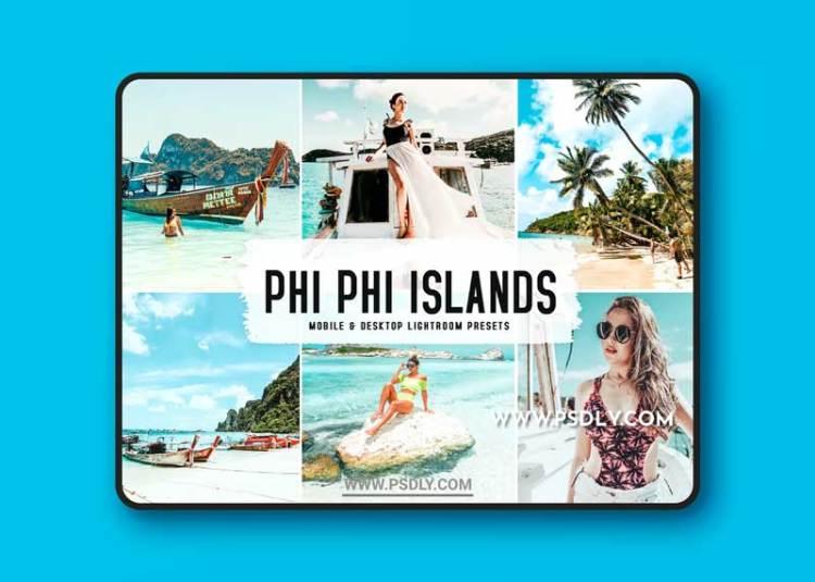 Phi Phi Islands Mobile & Desktop Lightroom Presets