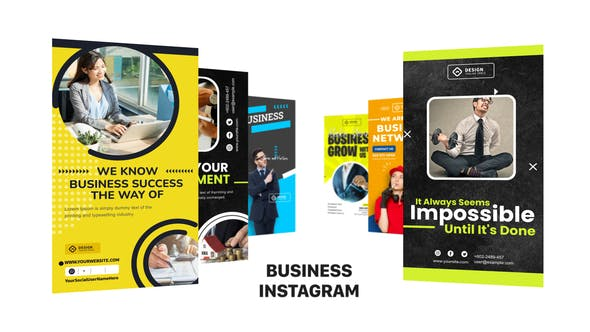 Videohive Business Instagram Post & Story B89 33041517