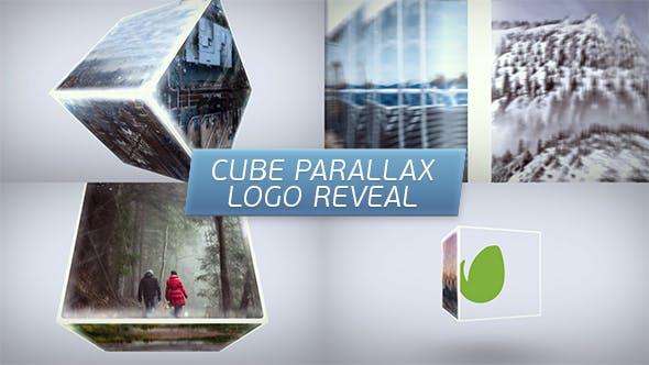 Videohive Cube Parallax Logo Reveal 17100443