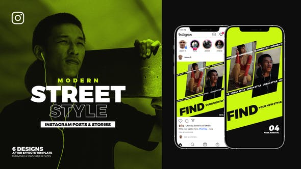 Videohive Street Style Instagram Ad B93 33117681