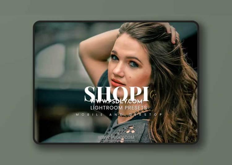 Shopi Lightroom Presets Dekstop and Mobile
