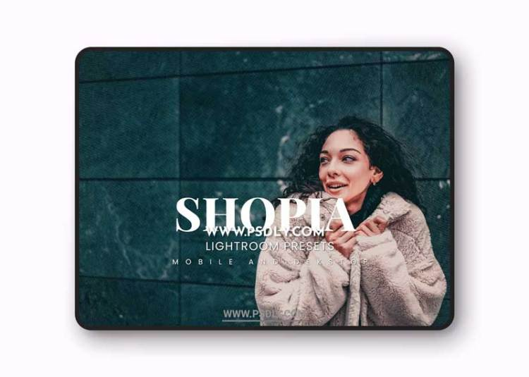 Shopia Lightroom Presets Dekstop and Mobile