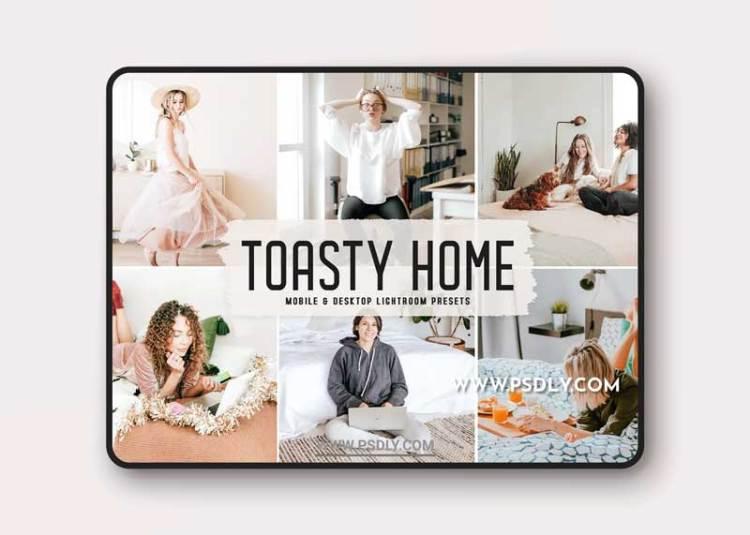 Toasty Home Mobile & Desktop Lightroom Presets