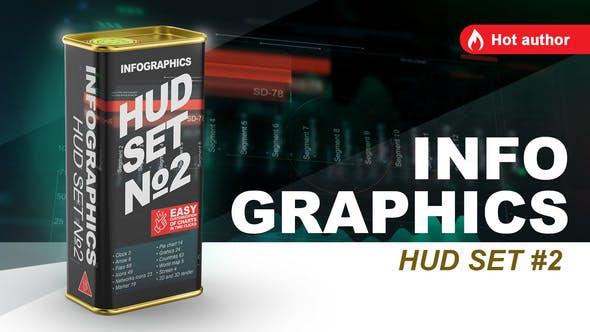 Videohive infographics HUD set 2 21799720