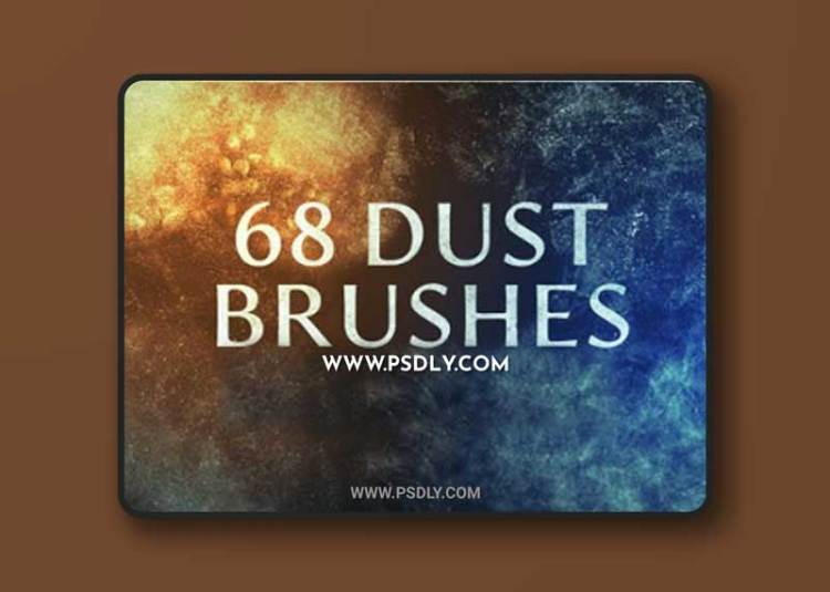 68 Dust Brushes Collection for Photoshop