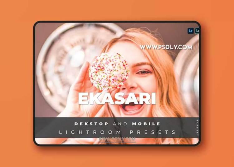 Ekasari Desktop and Mobile Lightroom Preset