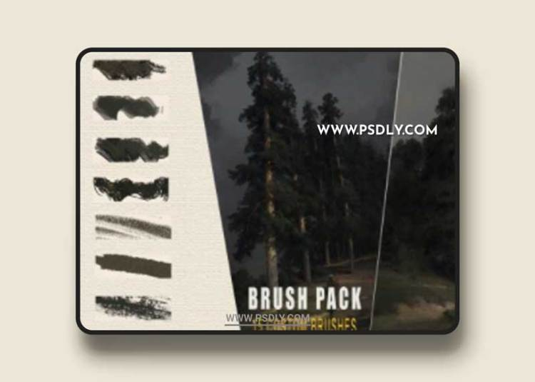 Traditional Texture Brushes for Photoshop by Vladimir Motsar