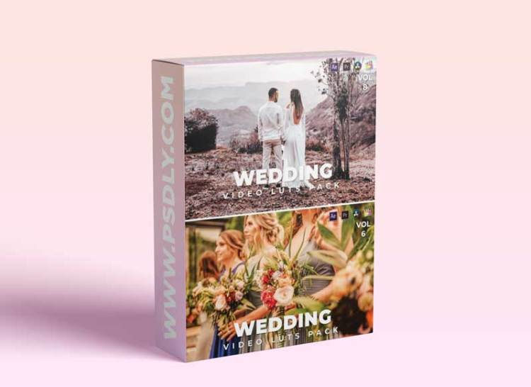 Wedding Pack Video LUTs Bundle