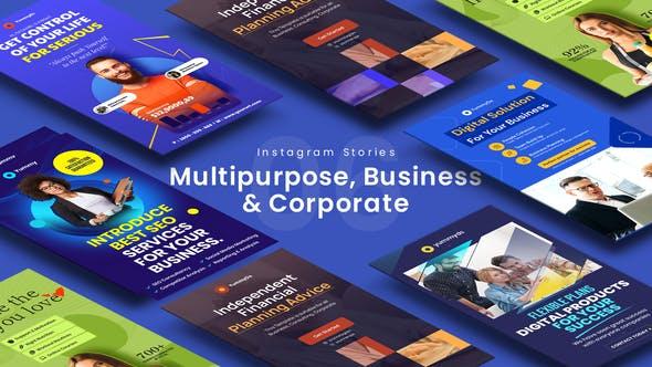 Videohive Multipurpose Business & Corporate Instagram Stories 33566622