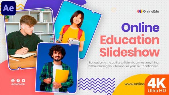 Videohive Online Education Slideshow 33694663