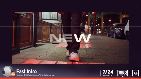 Videohive - Fast Intro - 32042556