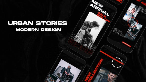 Videohive Urban Stories | After Effects 33704601