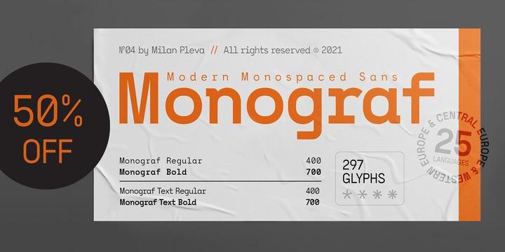 Monograf Font Family