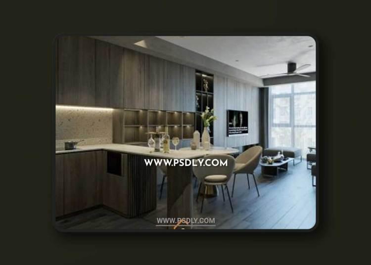 Apartment 256 3D Model