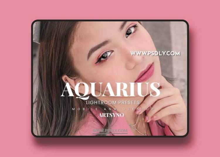 Aquarius Lightroom Presets Dekstop and Mobile