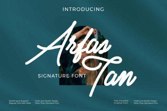 Arfas Tan Font
