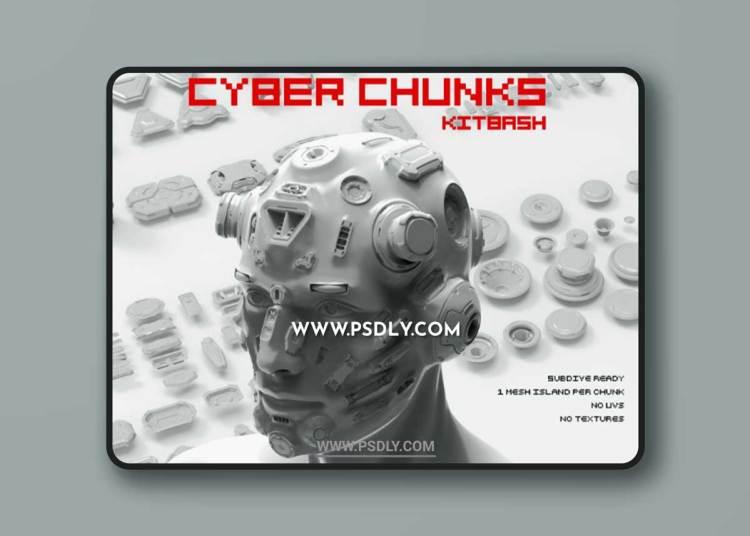 ArtStation Marketplace – Cyber Chunks Kitbash Bundle