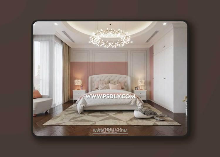 Bedroom Girls 605 3D Model