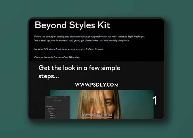 Beyond Styles Kit - FILM & BW for Capture One