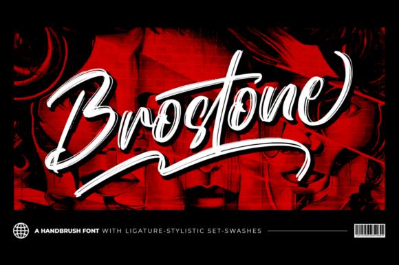 Brostone Font