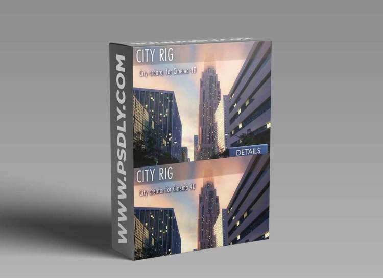 CITY RIG 2.13 for Cinema 4D
