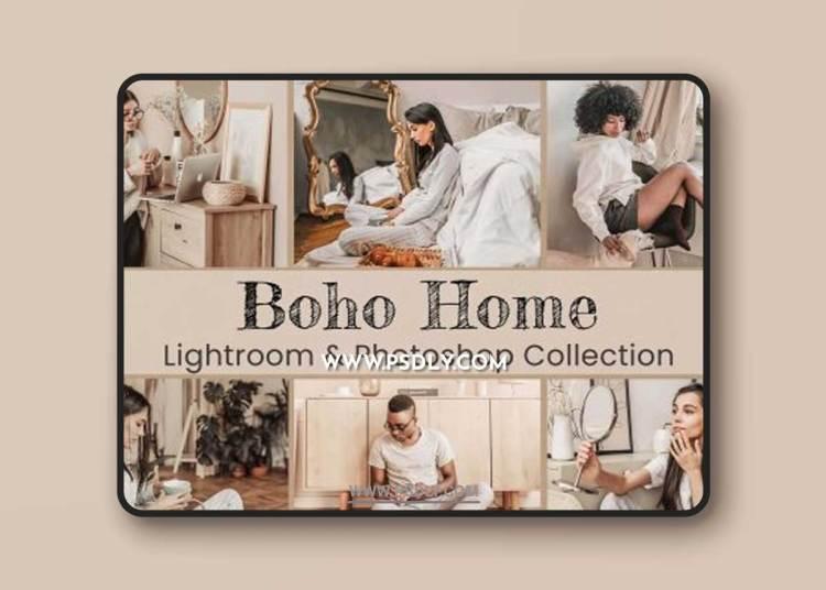 CreativeMarket - Boho Home Lightroom Photoshop LUTs 6492188