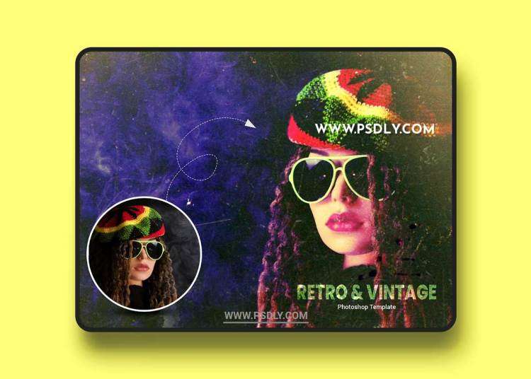 CreativeMarket - Retro and Vintage Photo Effect 6369450