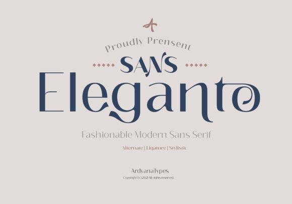 Eleganto Font
