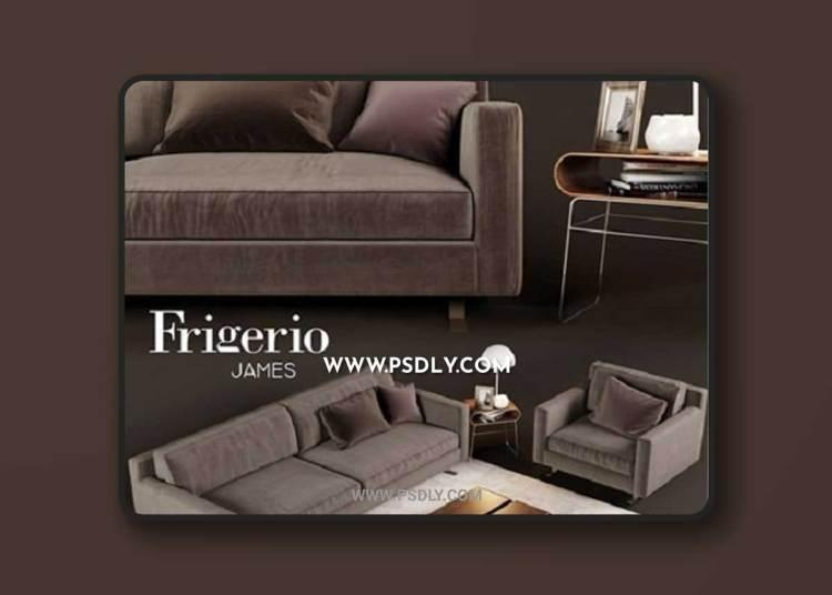 Frigerio James 3D Model