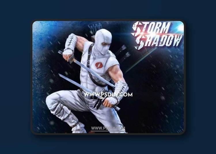 G.I.JOE – Storm Shadow – 3D Print Model