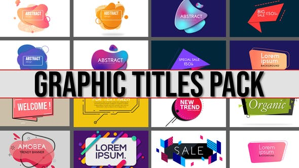 Videohive Graphics Title Pack 24229226