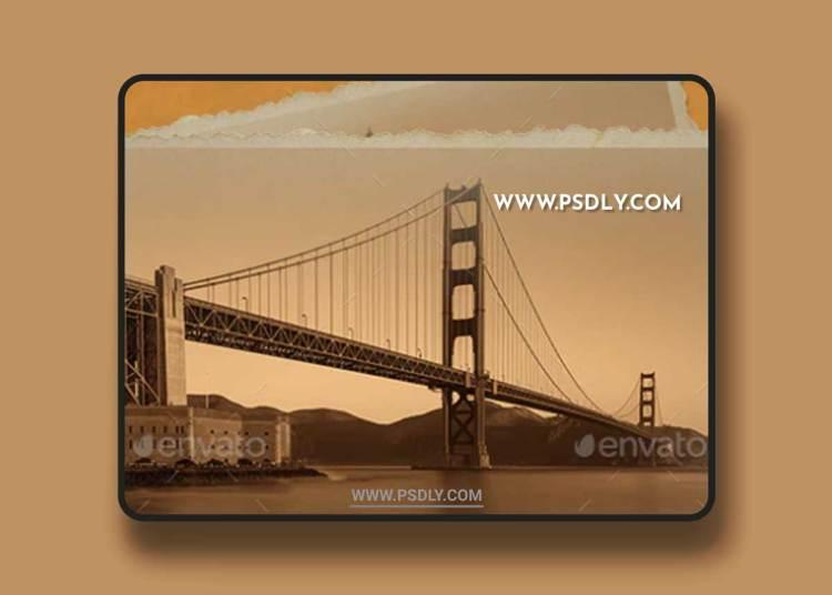 GraphicRiver - 1951 Vintage Frame Photoshop Template 21954083
