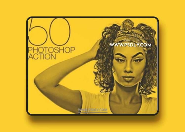 GraphicRiver - 50 Doutone Photoshop Actions 22169539