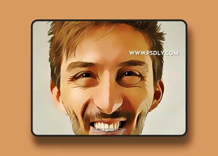 GraphicRiver - Caricature Photoshop Action 22993387