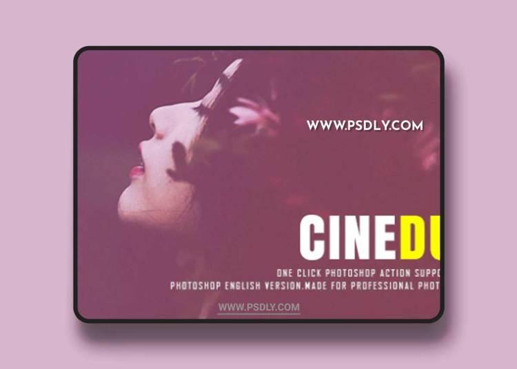 GraphicRiver - Cinematic Doutone photoshop Action 22214521