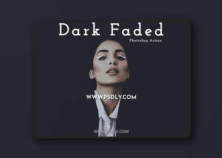 GraphicRiver - Dark Faded Photoshop Action 23139323