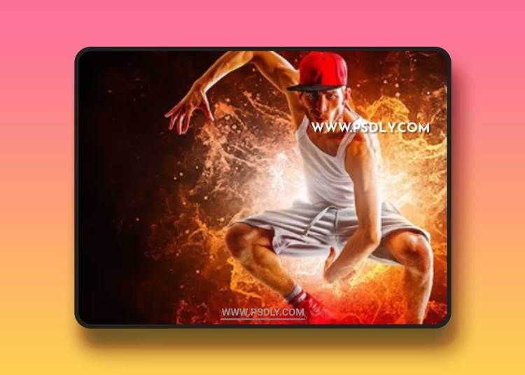 GraphicRiver - Energy Dispersion Animation Photoshop Action 22080399