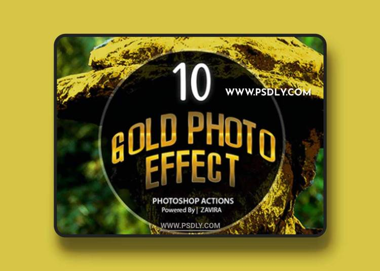 GraphicRiver - Gold Photo Manipulation Action 22007760